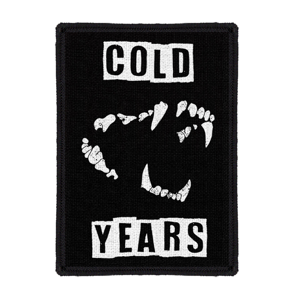 Cold Years - Back Patch