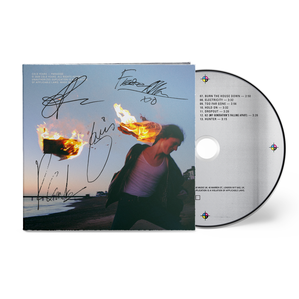 Cold Years - 'Paradise' [Signed CD Bundle]