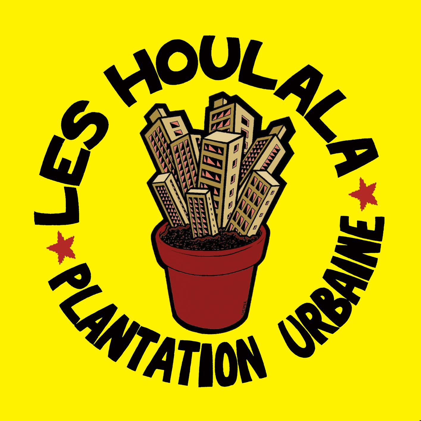 Les Houlala - plantation urbaine