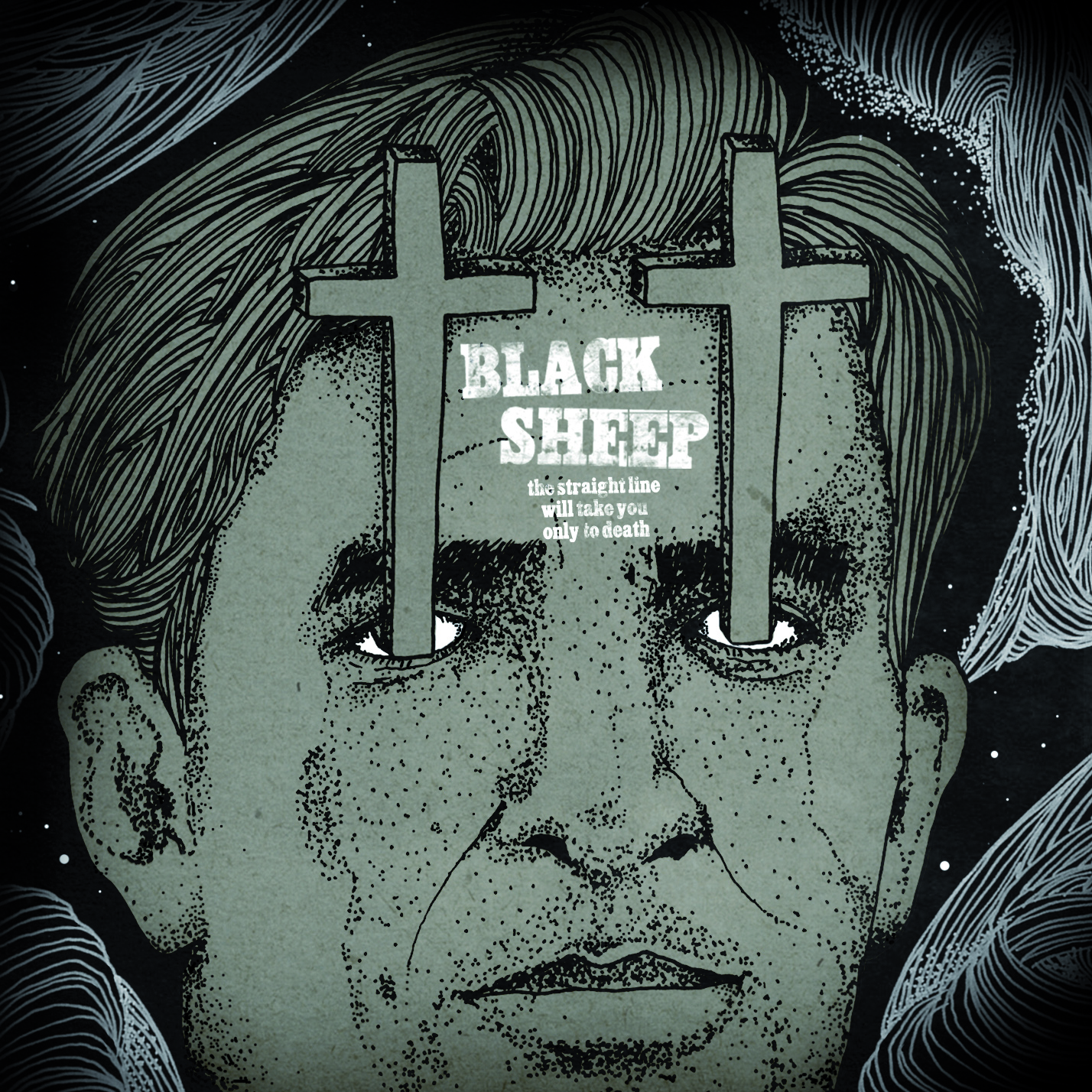 Black Sheep - the straight line will take you only to death