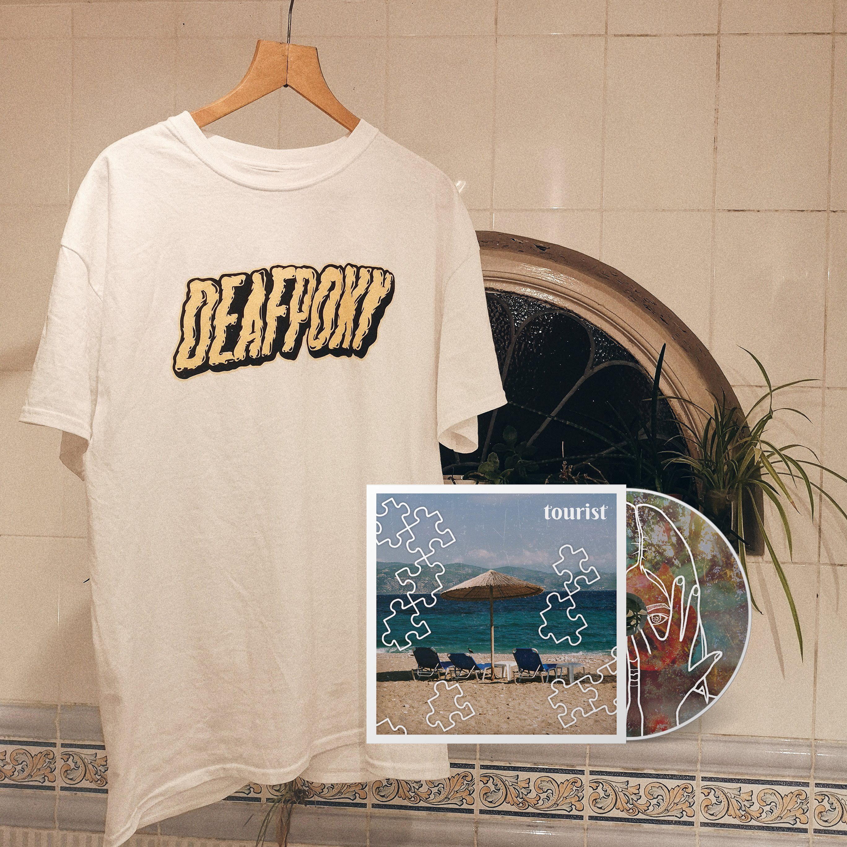 Logo T-Shirt + Tourist CD Bundle