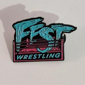 Fest Wrestling - Enamel Pin