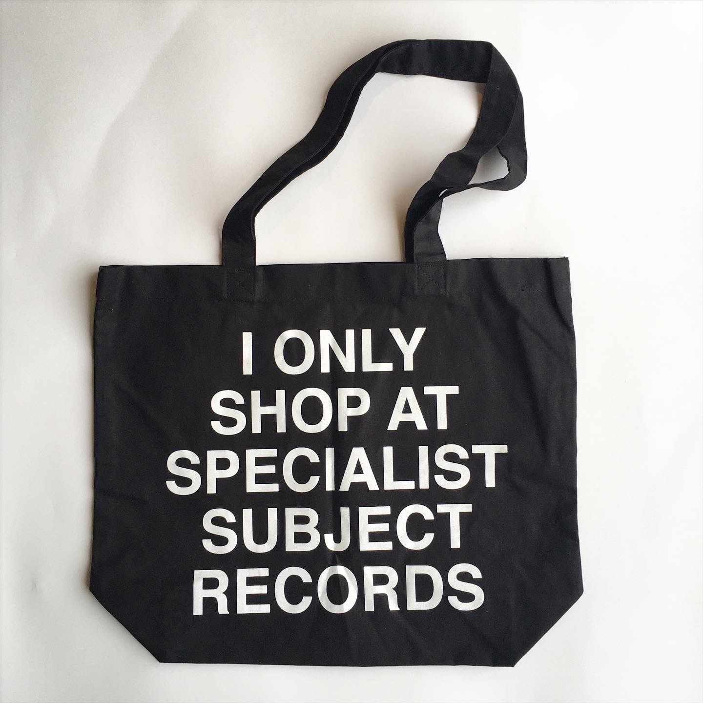 'I Only Shop At Specialist Subject' Tote