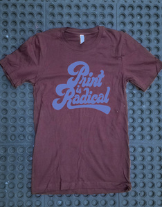 Print is Radical - Oxblood