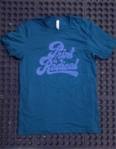 Print is Radical - Deep Teal