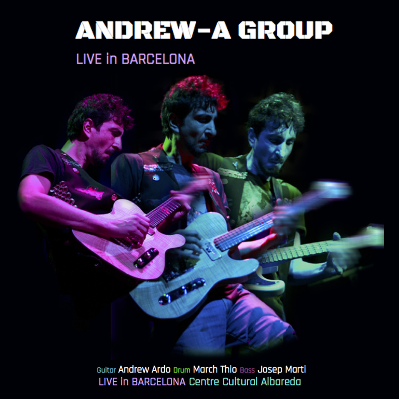 Andrew-A - Live in Barcelona