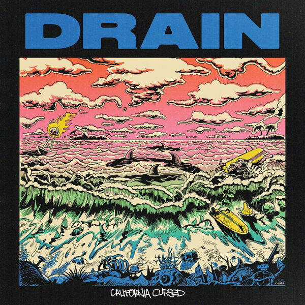 Drain - California Cursed LP