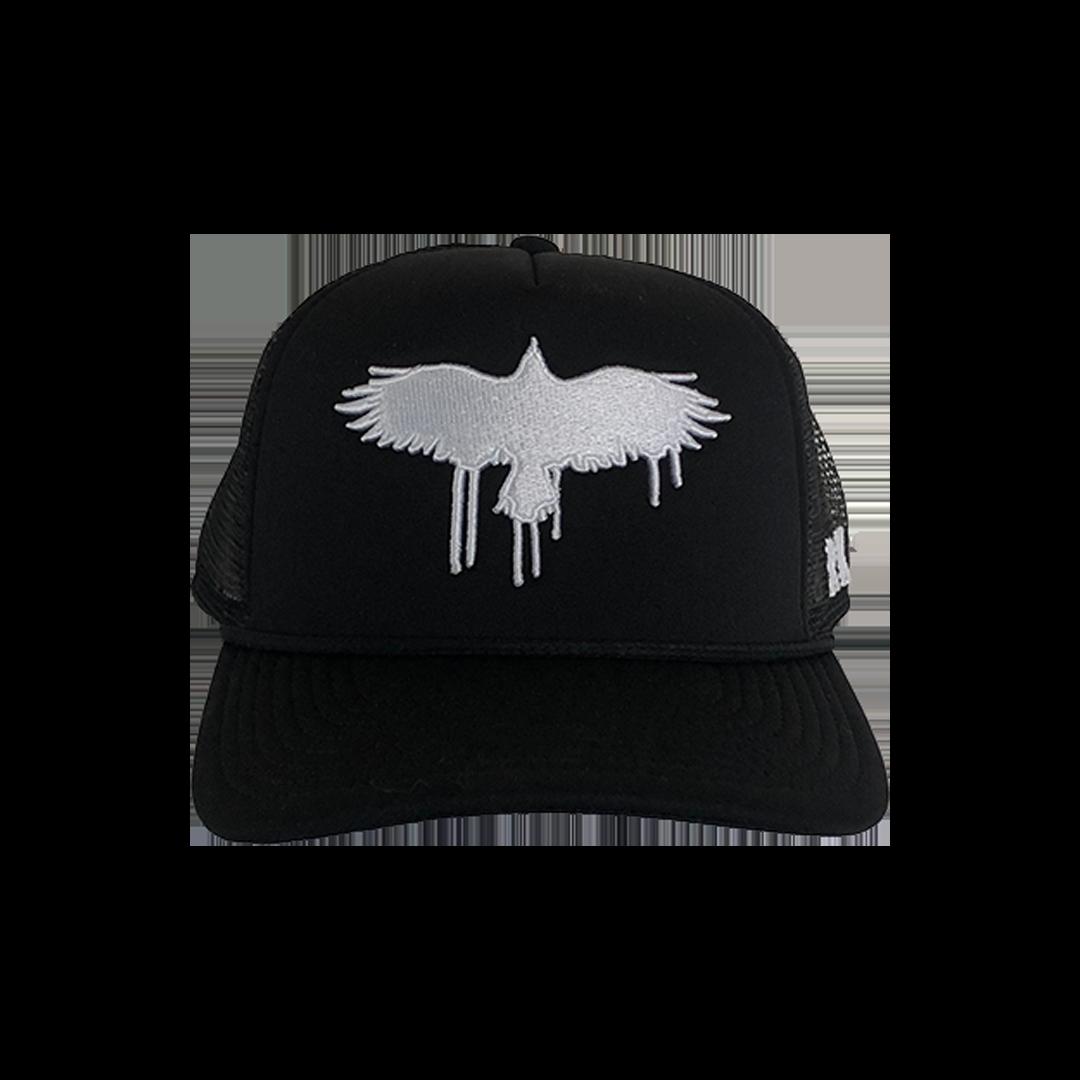 Black Crow Snapback Cap (3D embroidery) + Dirt Emo Vol 1. Vinyl or download (optional)