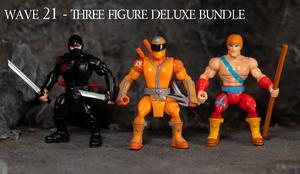 Wave 21 DX 3 figure bundle