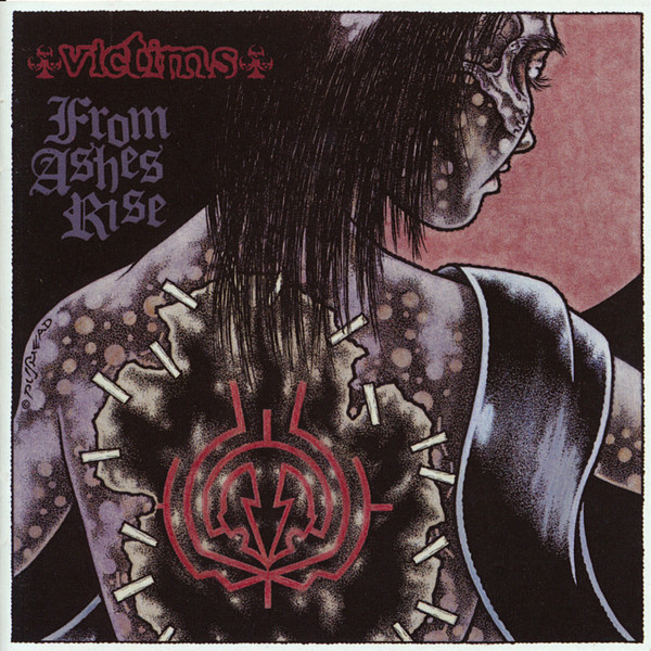 From Ashes Rise / Victims - Split LP