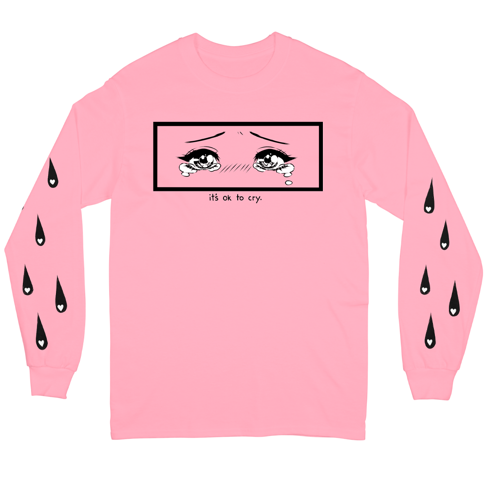 Cry Positive Long Sleeve - Pink