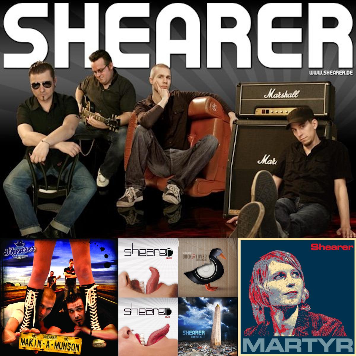 Shearer Full Digital Discography