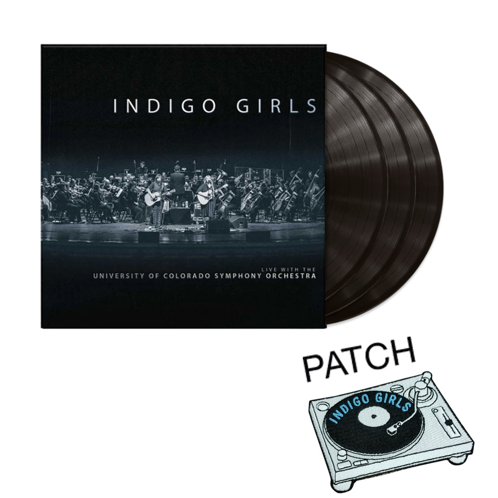 SIGNED or Unsigned Live BLACK 3xLP Live  + patch