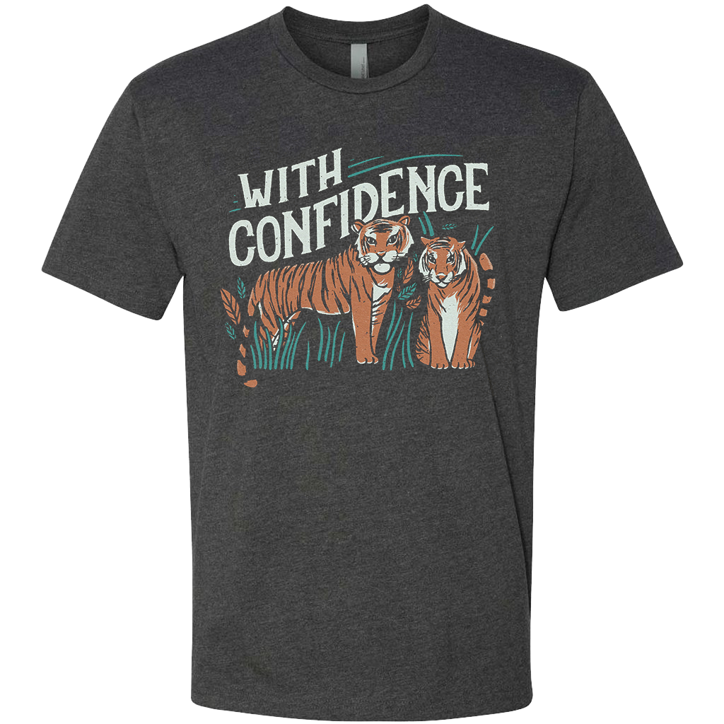With Confidence Tiger Tee