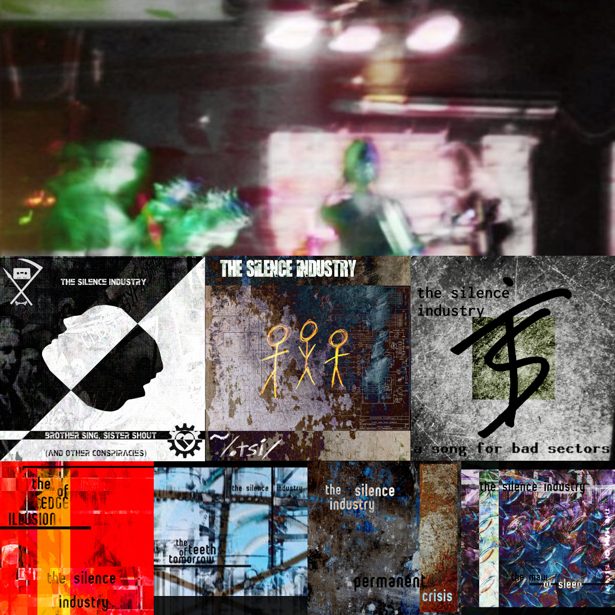 The Silence Industry Full Digital Discography
