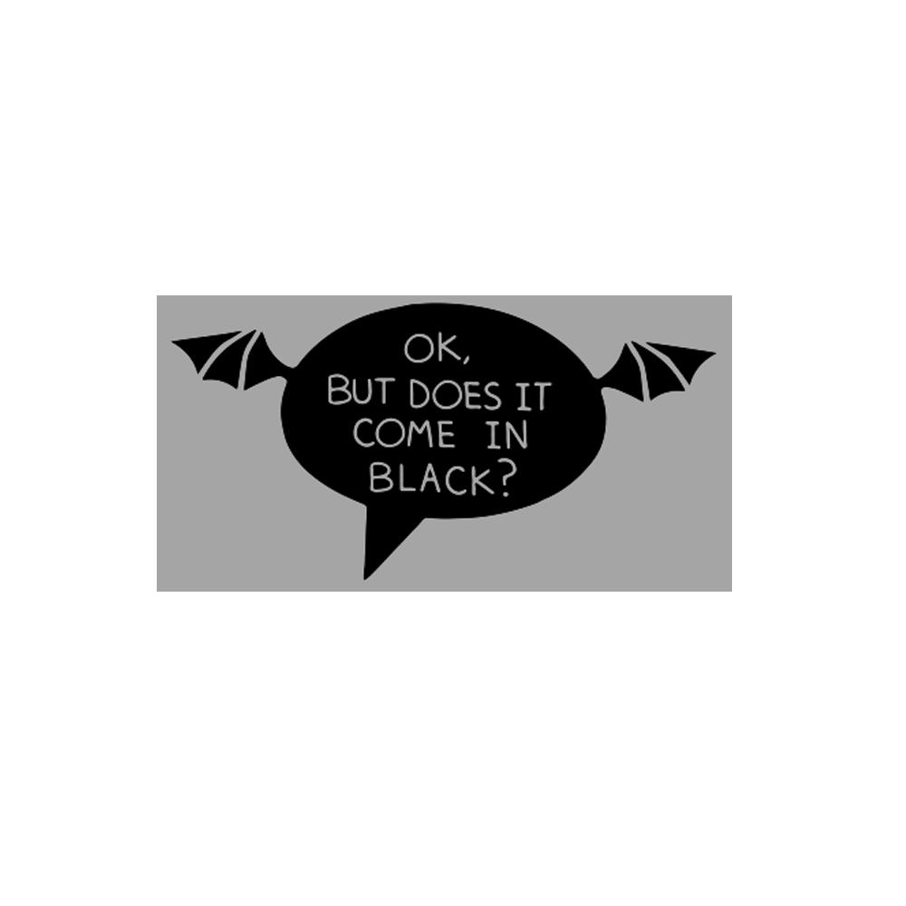 Conversation Enamel Pin - Black