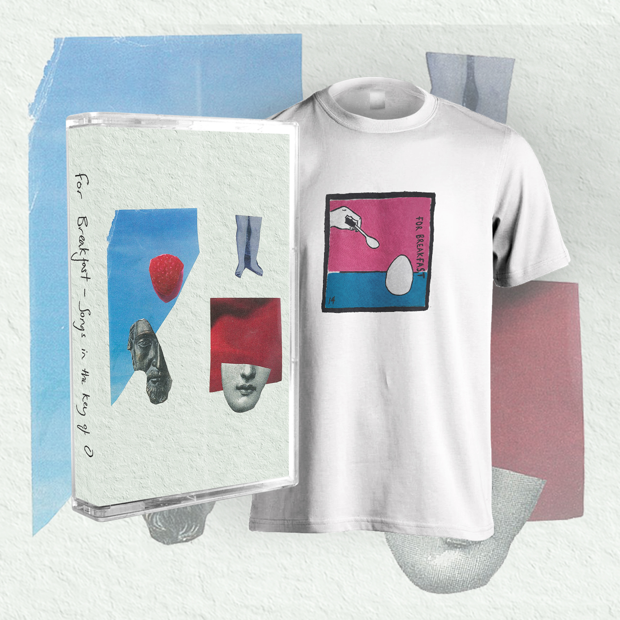 For Breakfast EP Cassette, Egg Shirt + Digital