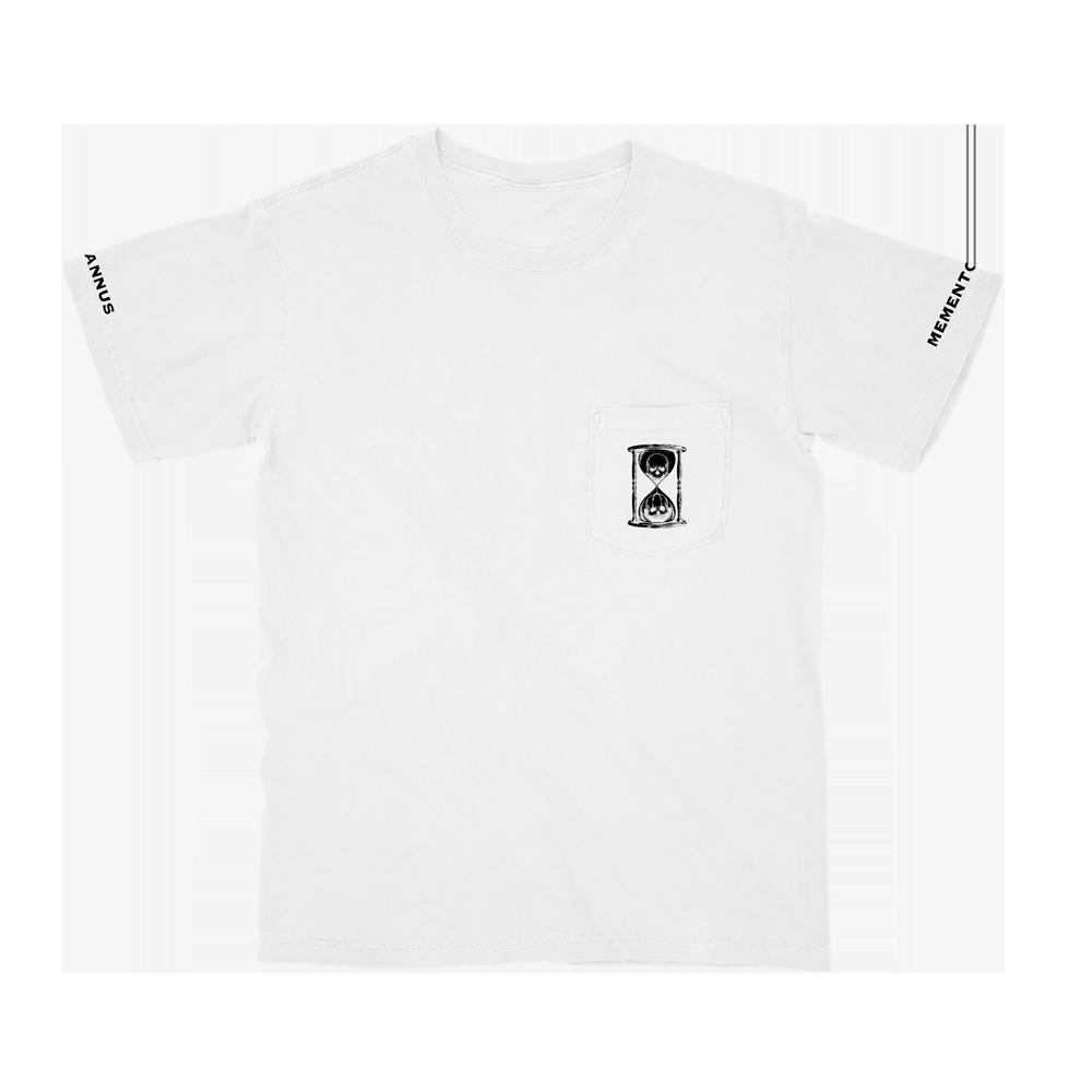 White Pocket Tee + LS Bundle