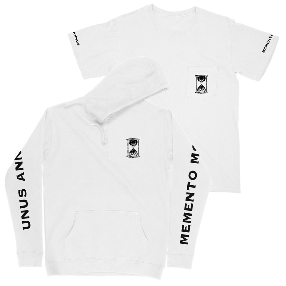 White Pocket Tee + Hoodie Bundle