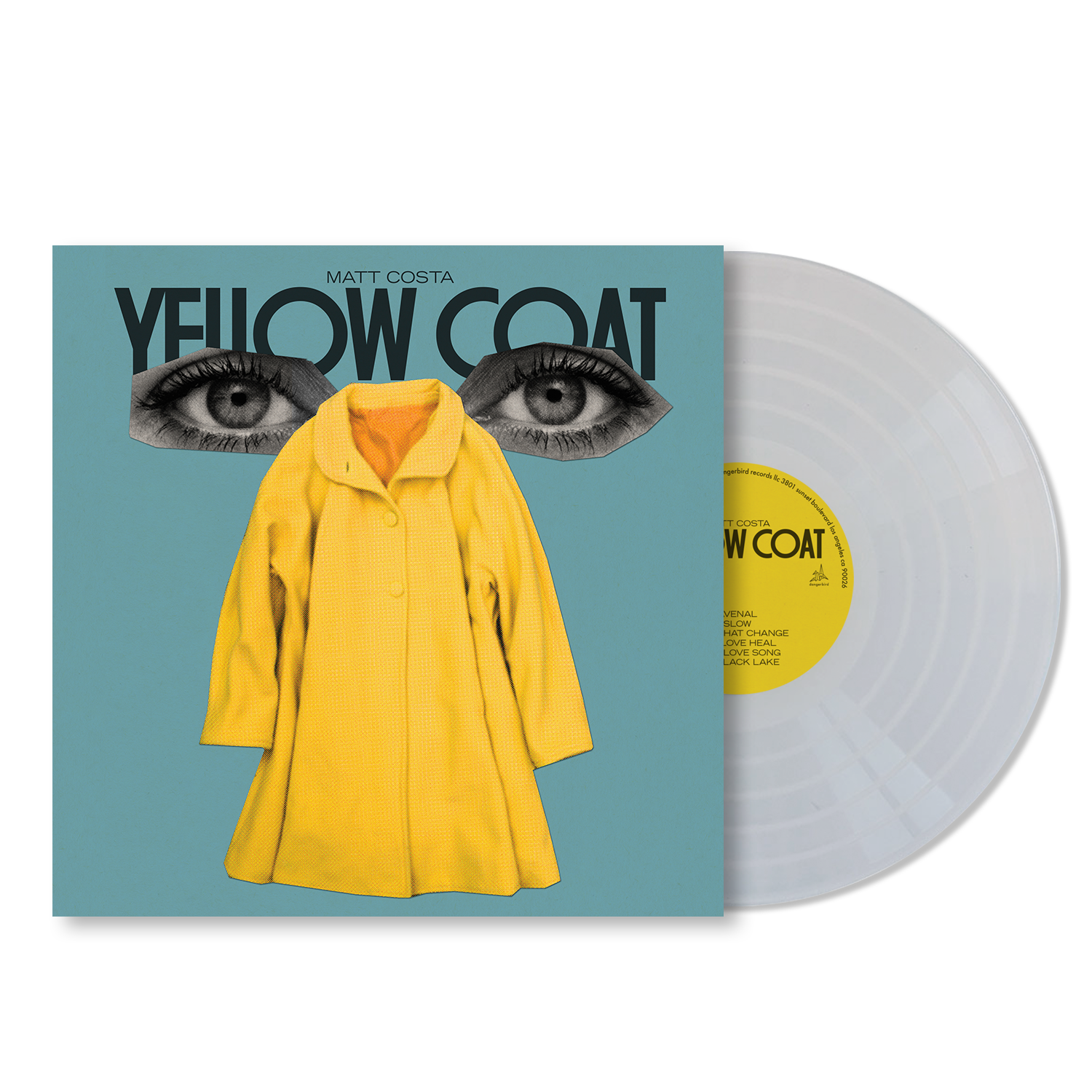 Matt Costa - Yellow Coat - LP Bundle