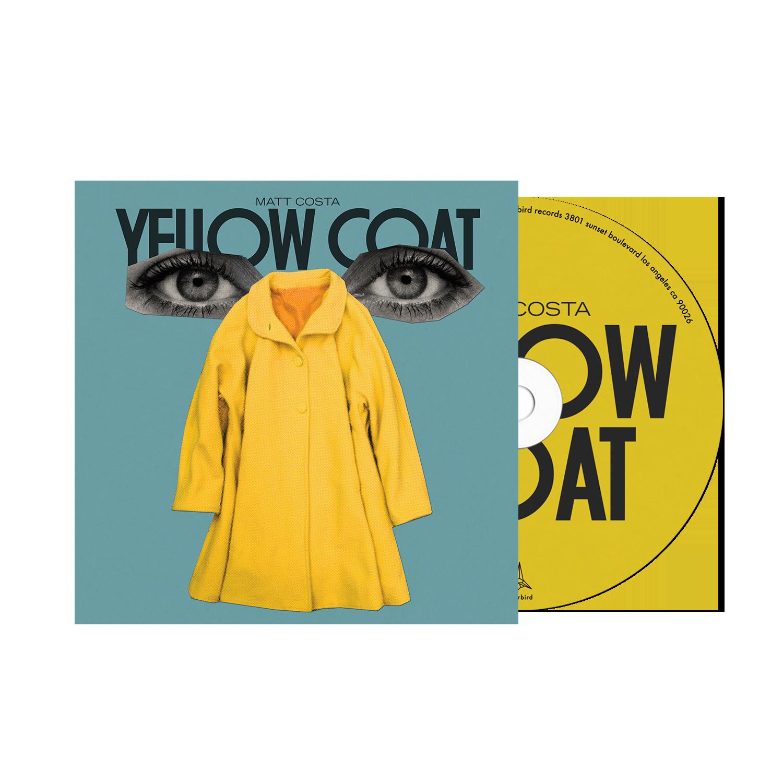 Matt Costa - Yellow Coat - CD Bundle