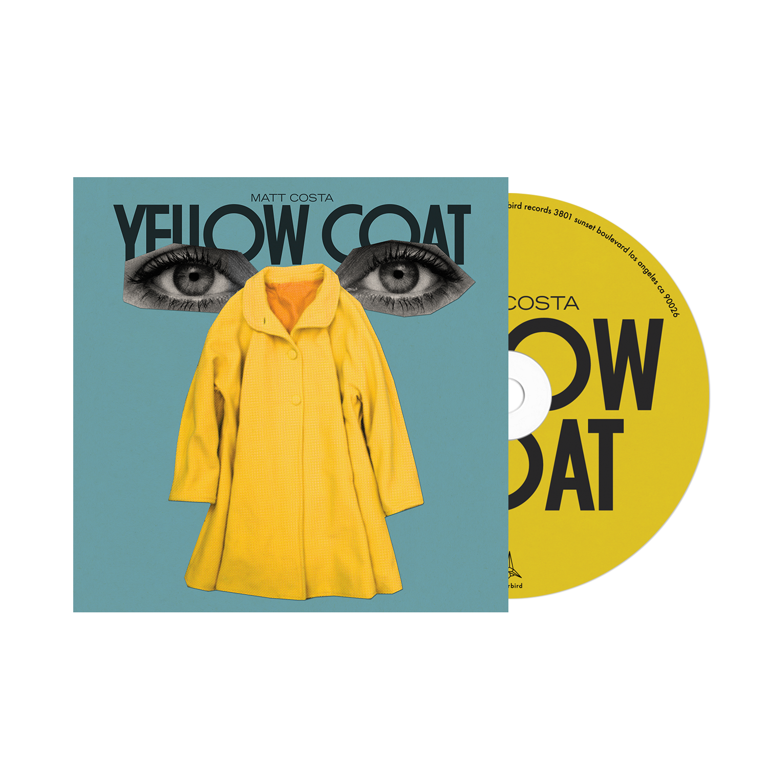 Matt Costa - Yellow Coat - CD + Shirt Bundle