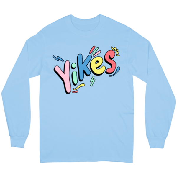 Yikes Long Sleeve - Blue
