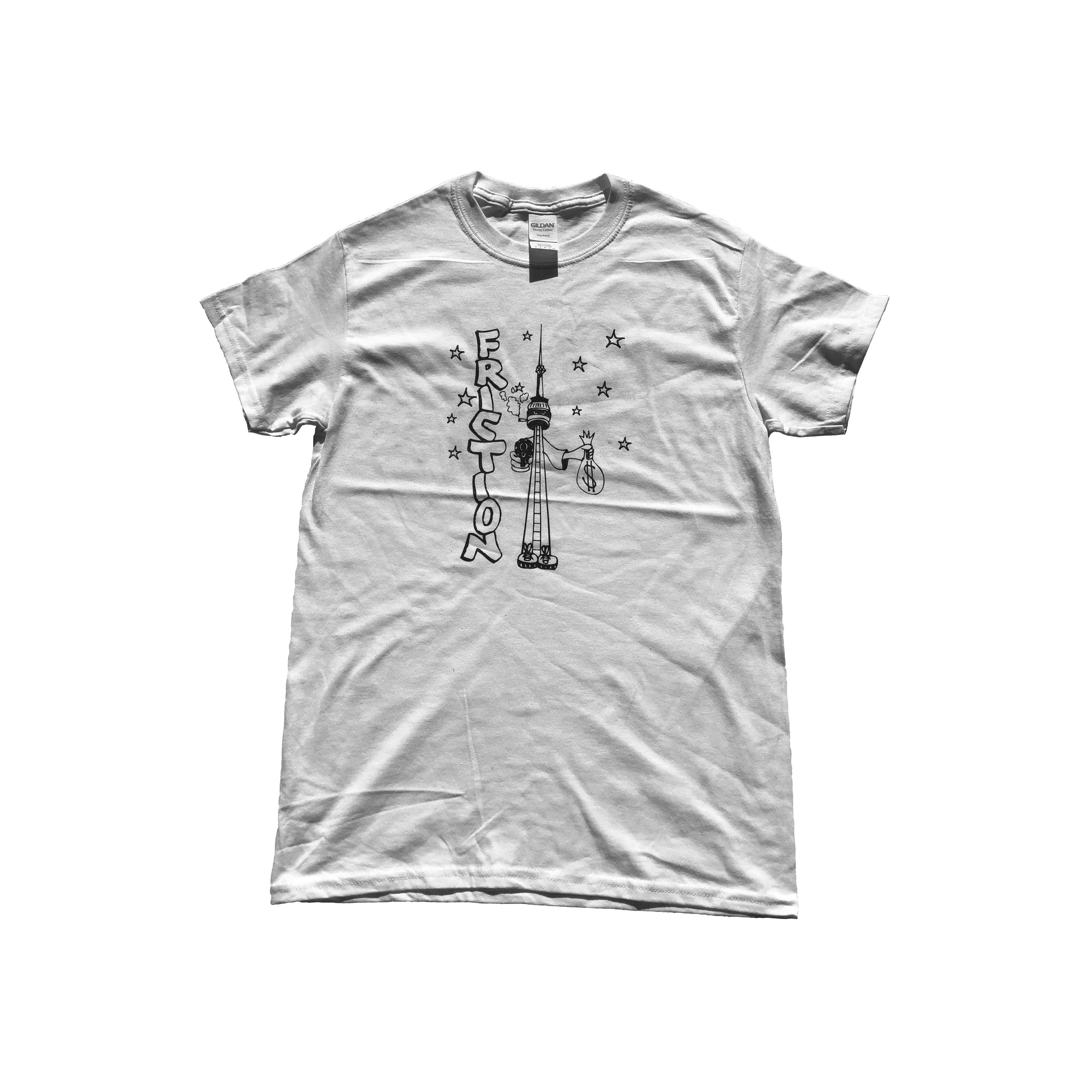 Friction CN Tower Tee