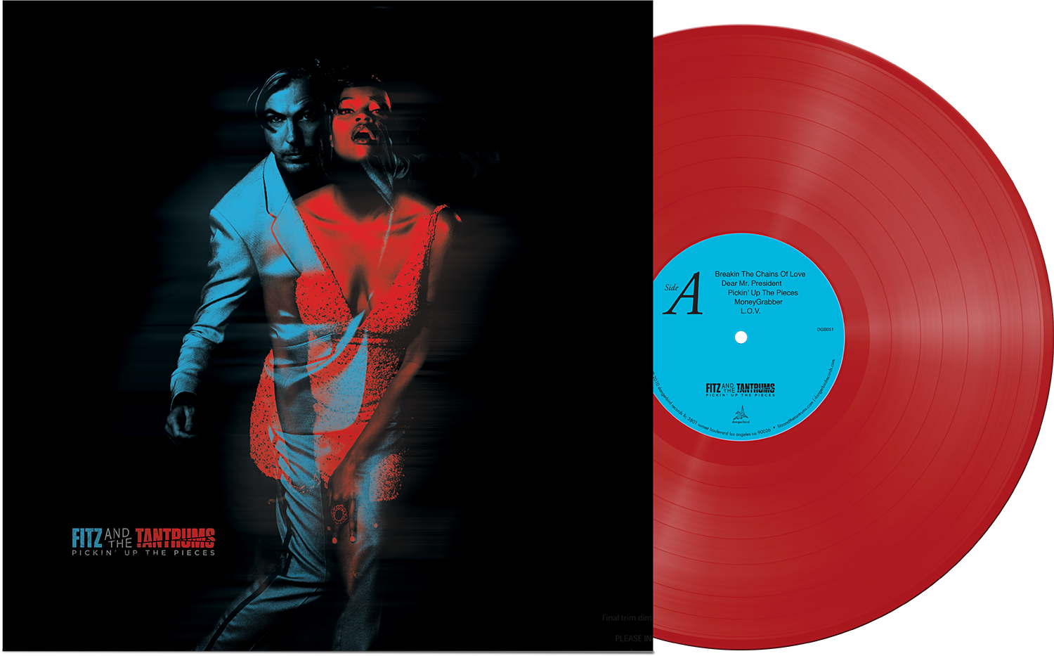 Fitz & The Tantrums - Pickin' Up The Pieces - Red LP