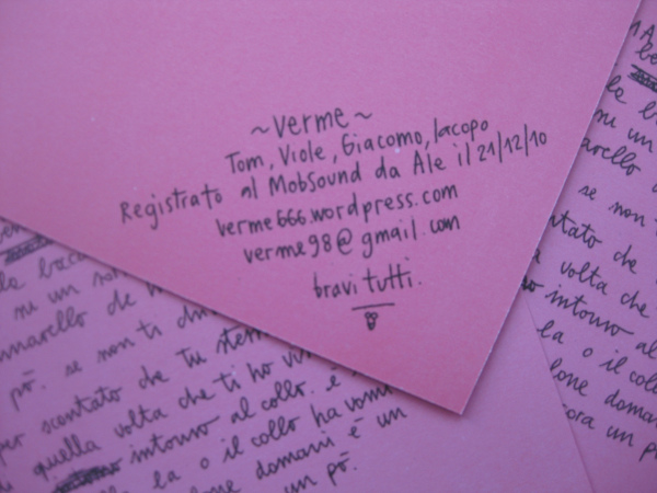 Verme - Bad Verme 7''