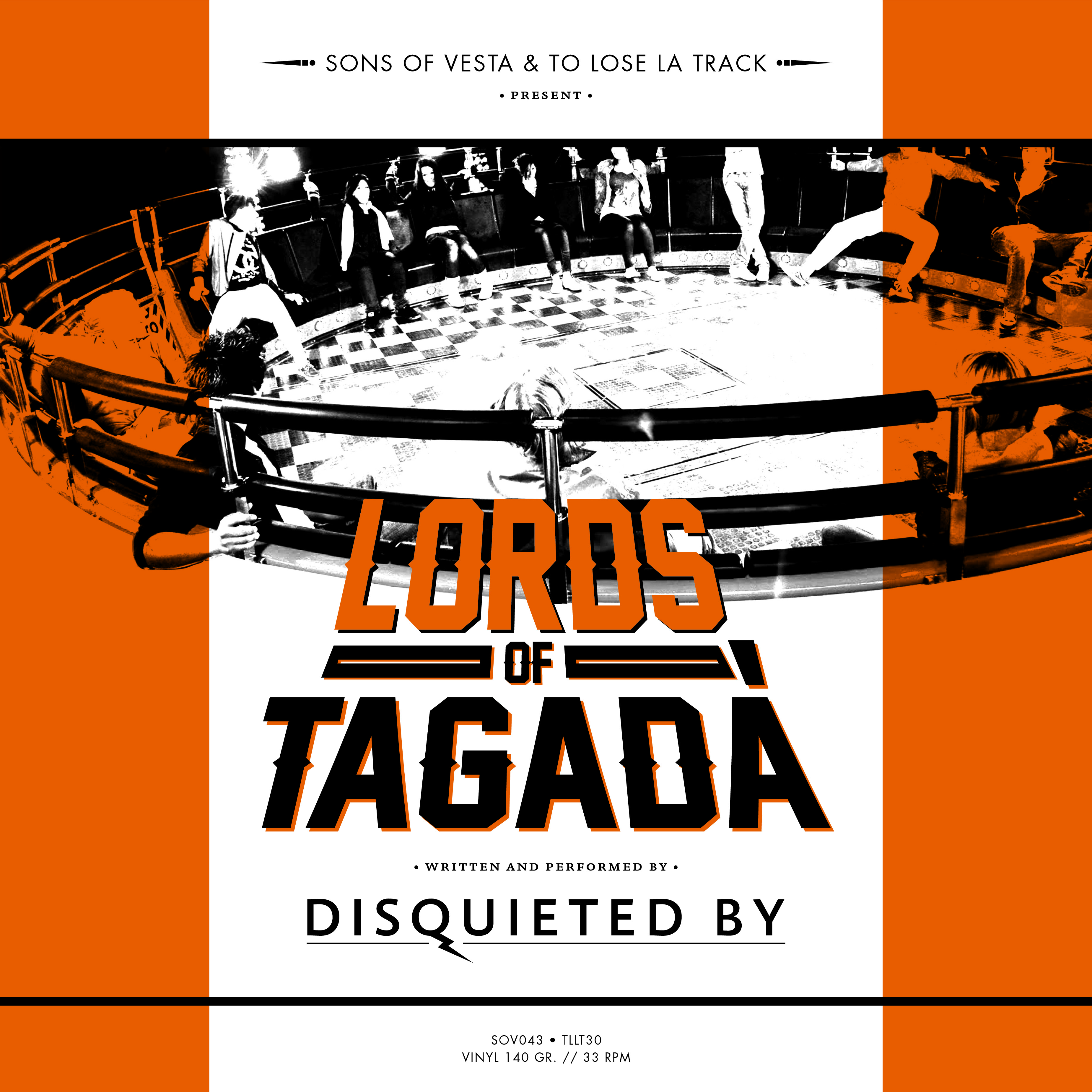 Disquieted By - Lords of Tagadà CD/LP