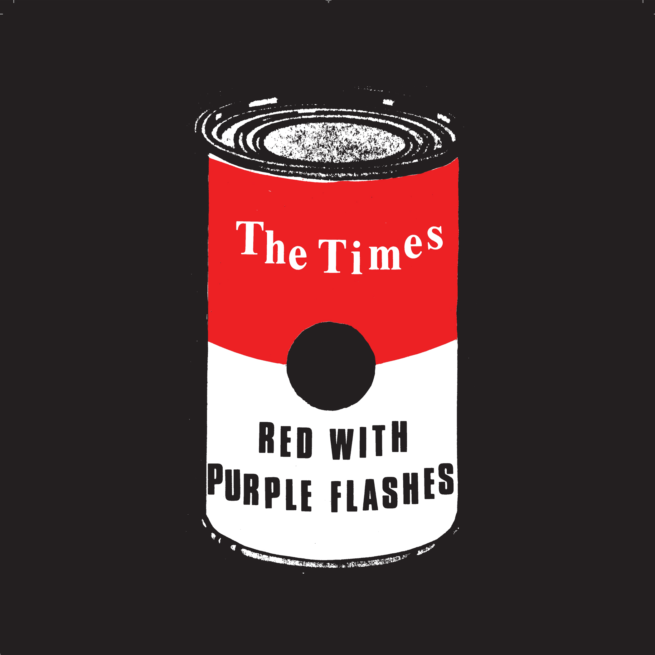THE TIMES - Red With Purple Flashes 7