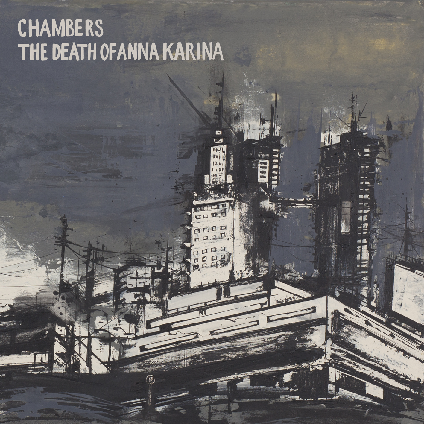 Chambers / The Death Of Anna Karina split LP