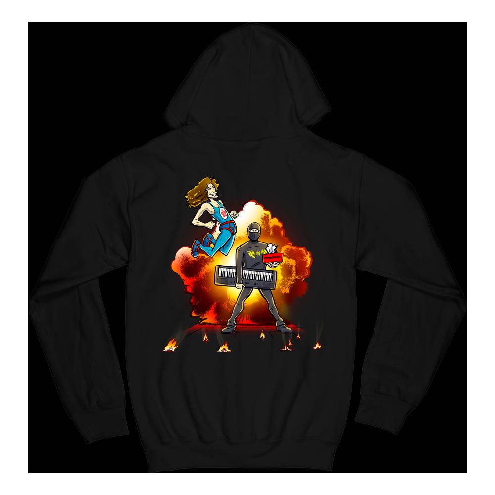 Explosion Zip Hoodie