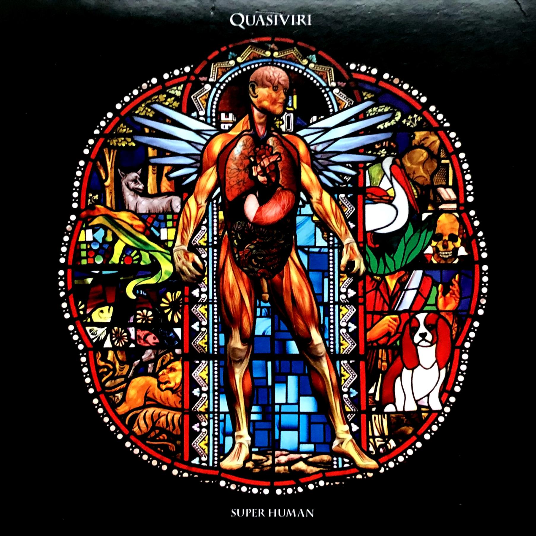 Quasiviri - Super Human CD