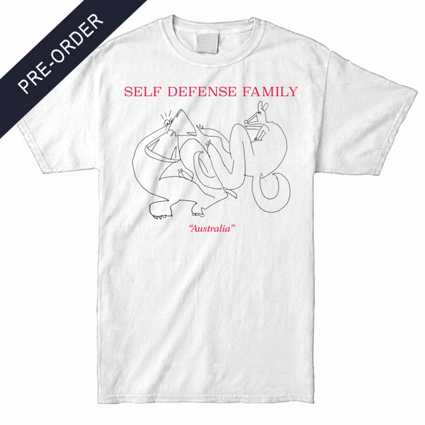 Self Defense Family - Australia Shirt (White)