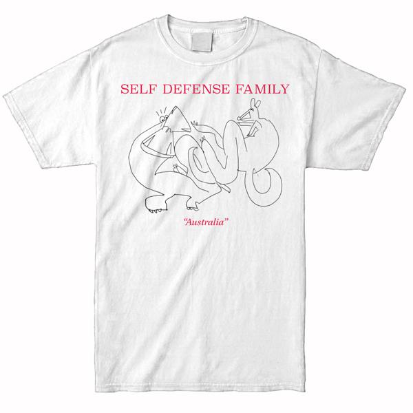 Self Defense Family - Australia Shirt (White)