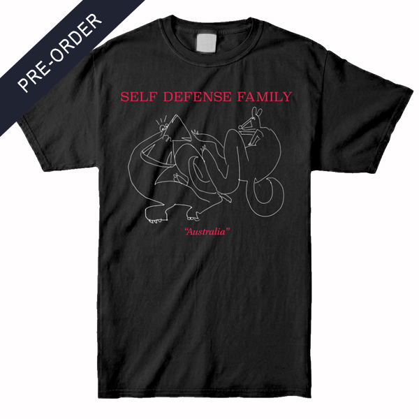 Self Defense Family - Australia Shirt (Black)
