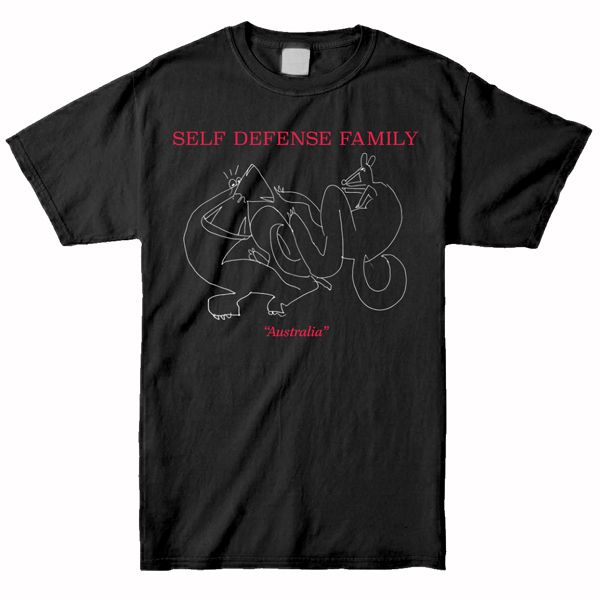 Self Defense Family – Australia Shirt (Black)
