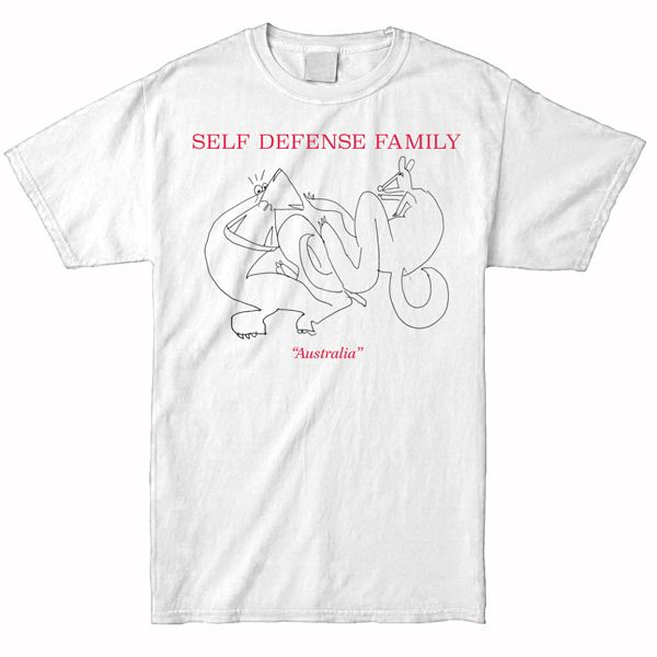 Self Defense Family – Australia Shirt (White)