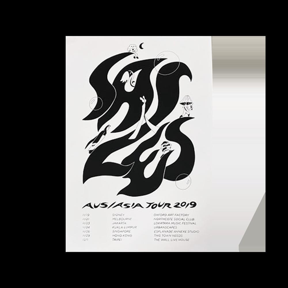 Aus/Asia Tour Poster