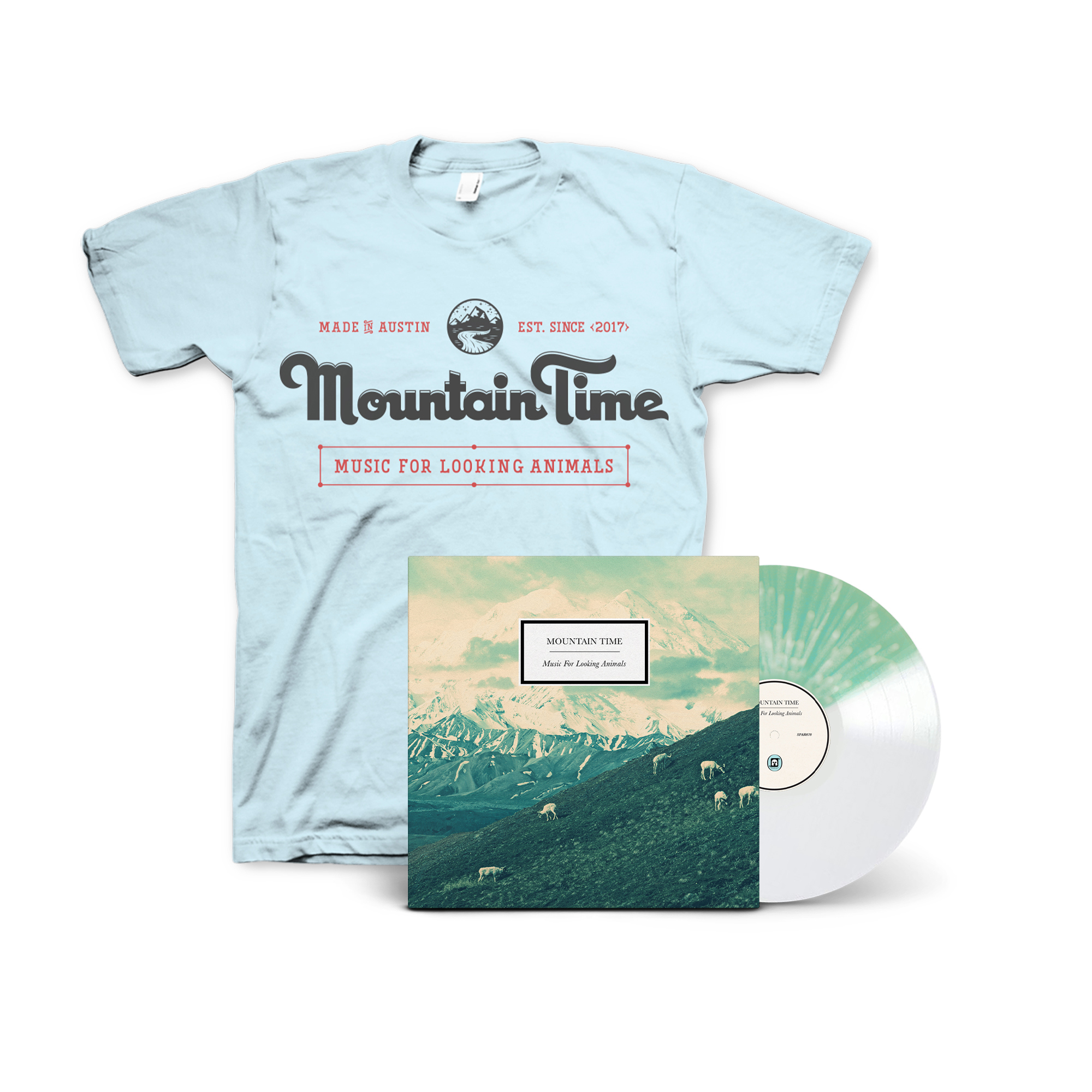 Mountain Time - Music For Looking Animals Bundle