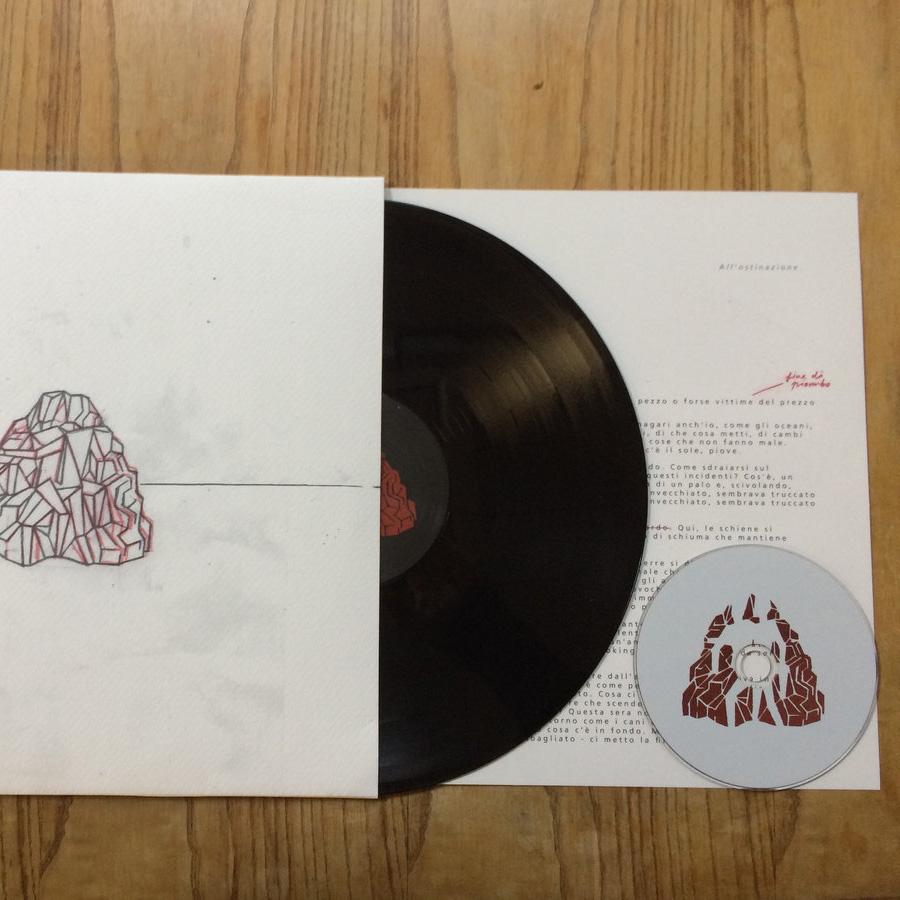 Action Dead Mouse - Il contrario di annegare LP + CD