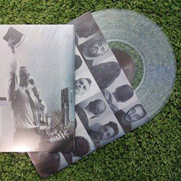 Johnny Mox - Obstinate Sermons LP (trasparente)