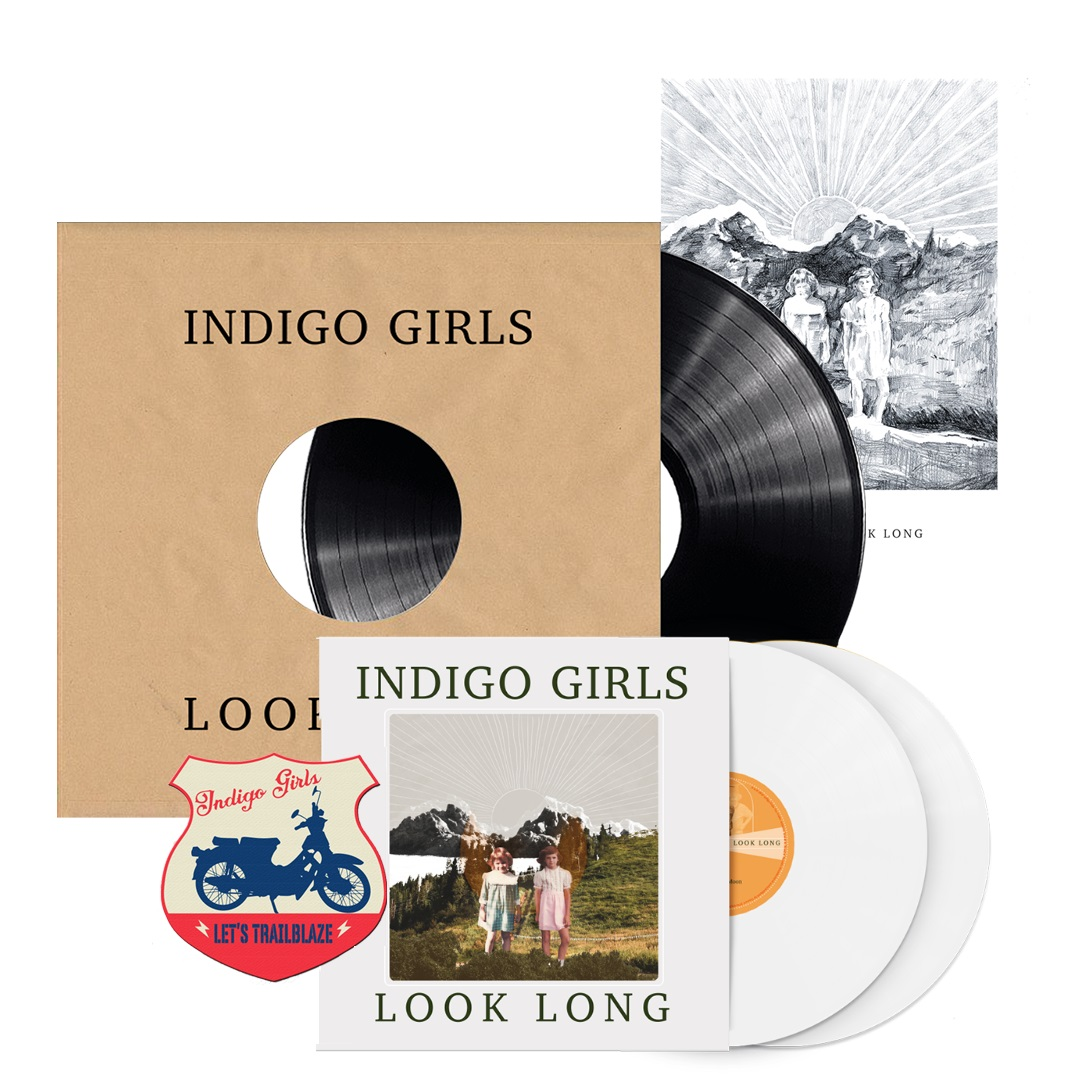 Signed Look Long 2xLP Test Pressing + Look Long Exclusive Color 2xLP Bundle (50 available)
