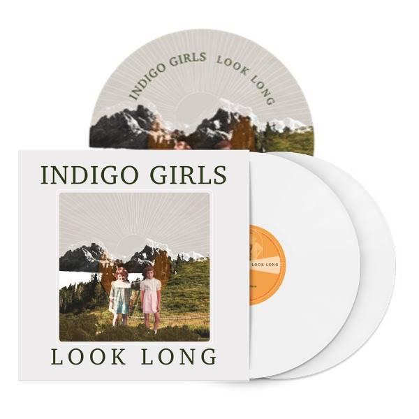 Antique Brass Belt Buckle + Look Long 2xLP Vinyl/CD/Download (optional)