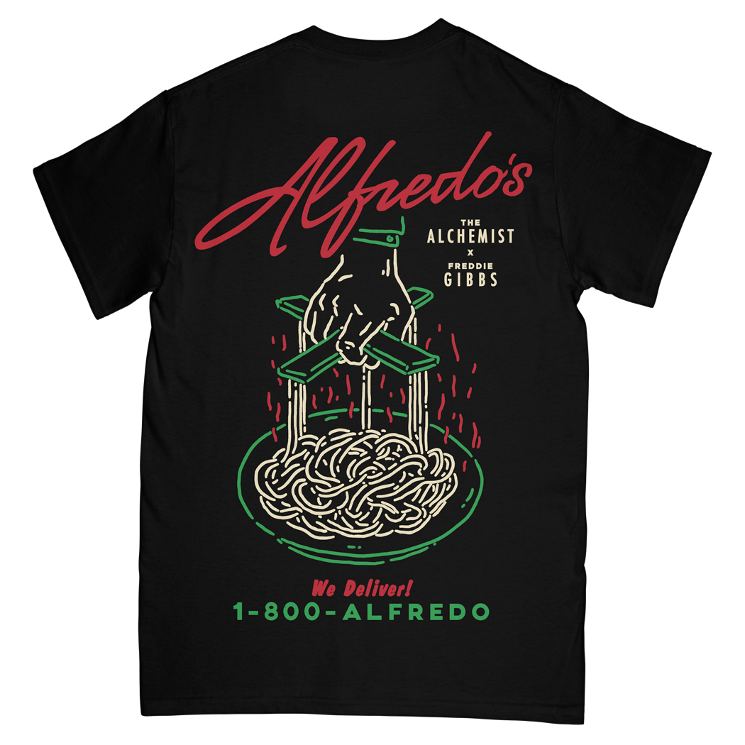 Alfredo's Restaurant Tee - Black