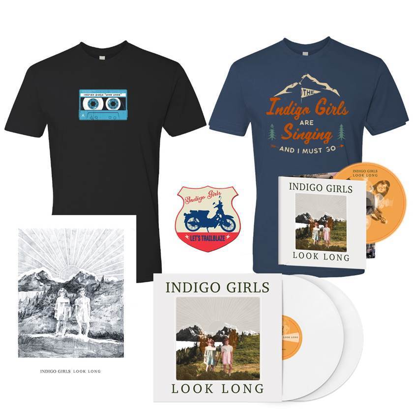 Signed Look Long 2xLP Vinyl or CD + Organic Tee Shirt Bundle