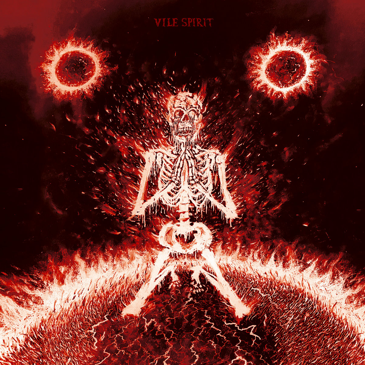 Vile Spirit - Scorched Earth LP