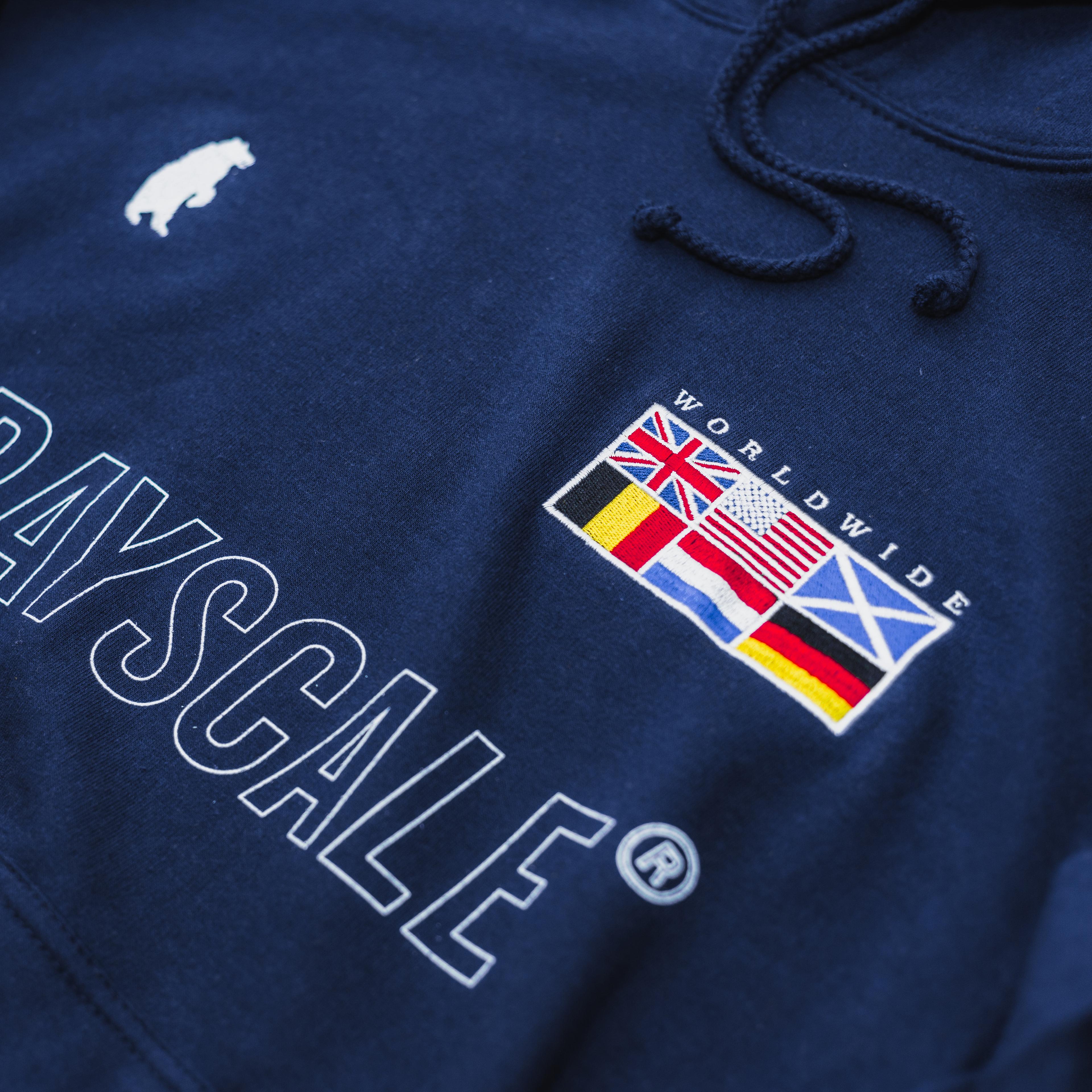 Navy Worldwide Hoodie (UK Edition)